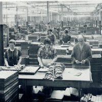 Erweiterter Produktionsstandort, 1962
