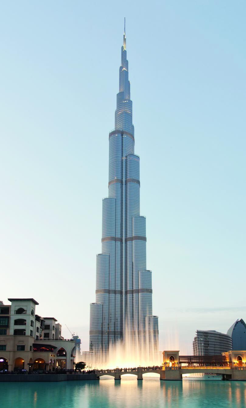 Dubai, Burj Khalifa Tower.