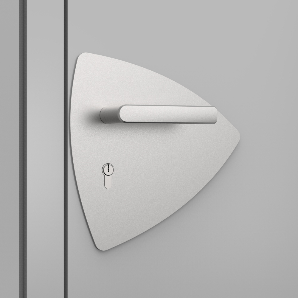 OGRO ZL Laser, Amorphe Form Türschild