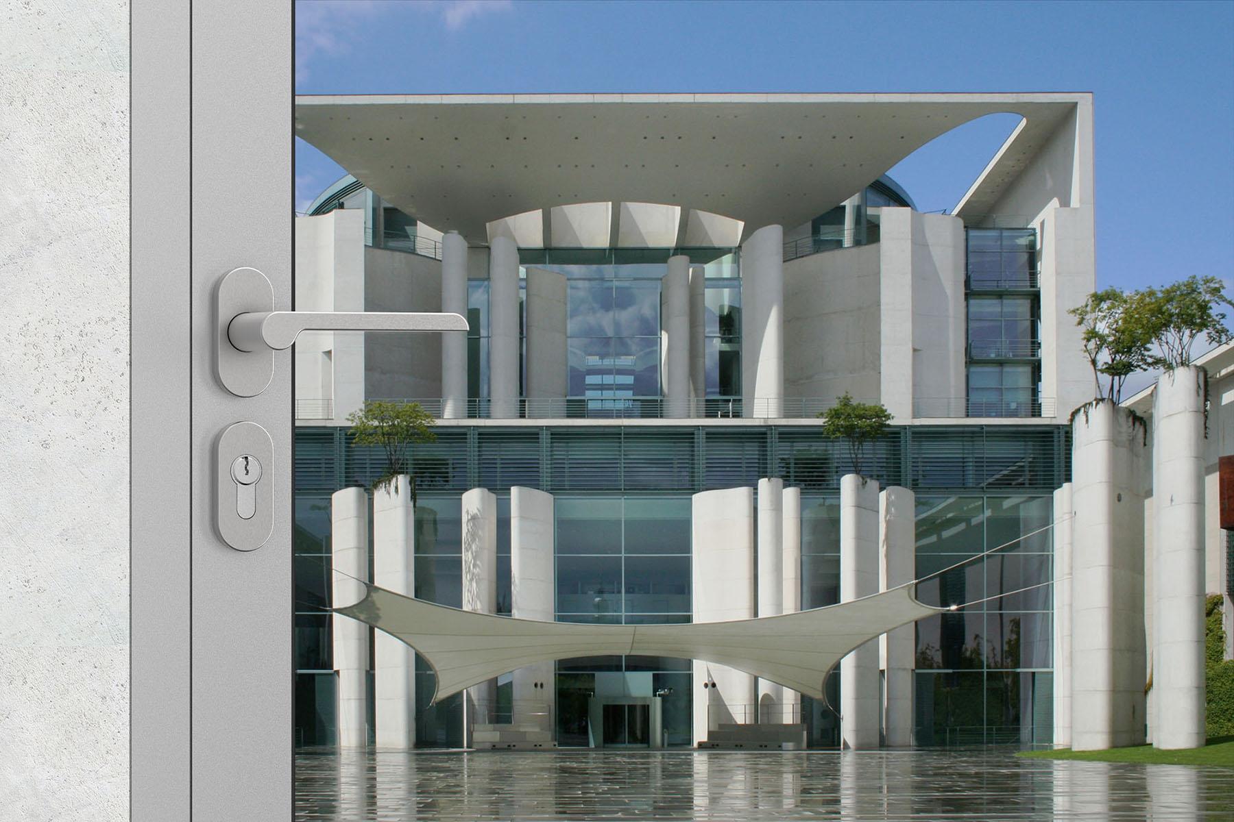 Linie OGRO by Architects verwendet im Kanzleramt, Berlin