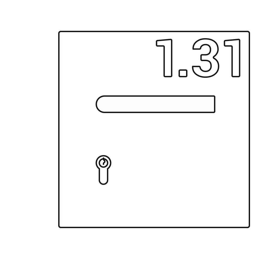 OGRO ZL Laser, Nummernschild Illustration