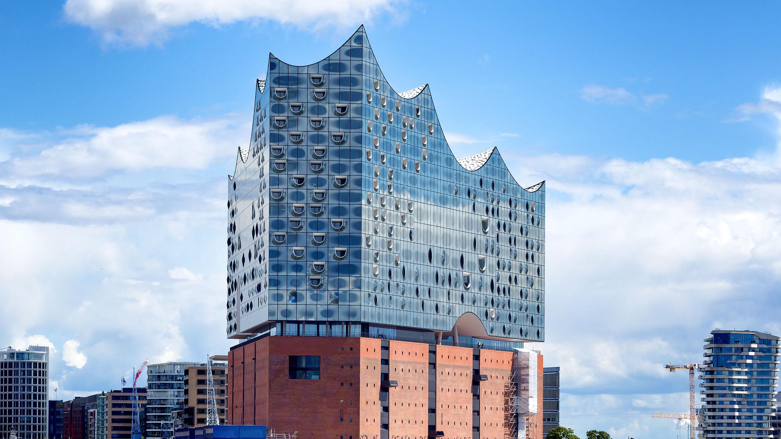 Produktlinie OGRO verwendet in der Elbphilharmonie, Hamburg